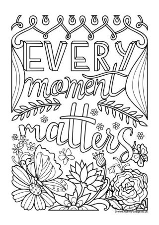 Quotation Colouring Pages Quote Coloring Pages Words Coloring Book Inspirational Quotes Coloring