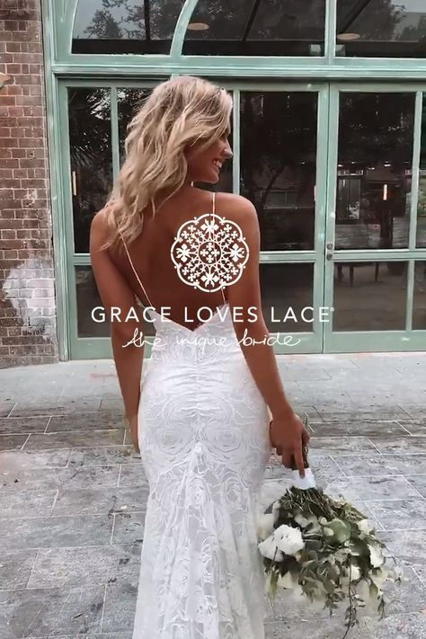 Discover our stunning range of wedding dresses. Grace Loves Lace crafts wedding dress designs using the finest European laces & silks. Available online now.