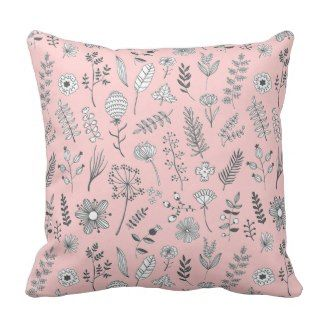 Girls Room | Throw pillows, Pink throw