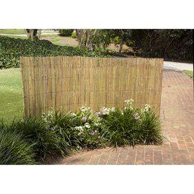 Gardman R645 13 X 5 Reed Fencing Walmart Com Backyard Fence Decor Bamboo Fence Garden Fence
