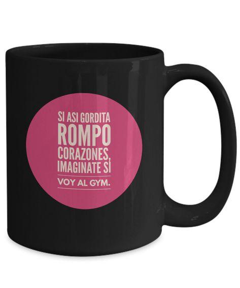 Excited to share the latest addition to my #etsy shop: Taza cafe gordita, taza de café divertidas, tazas personalizadas, taza de café inspiradoras, taza con mensajes positivos. #housewares #yes #tazacafe #tazadecafe #tazapersonalizada #coffeemug #mug #mugs #funnymug