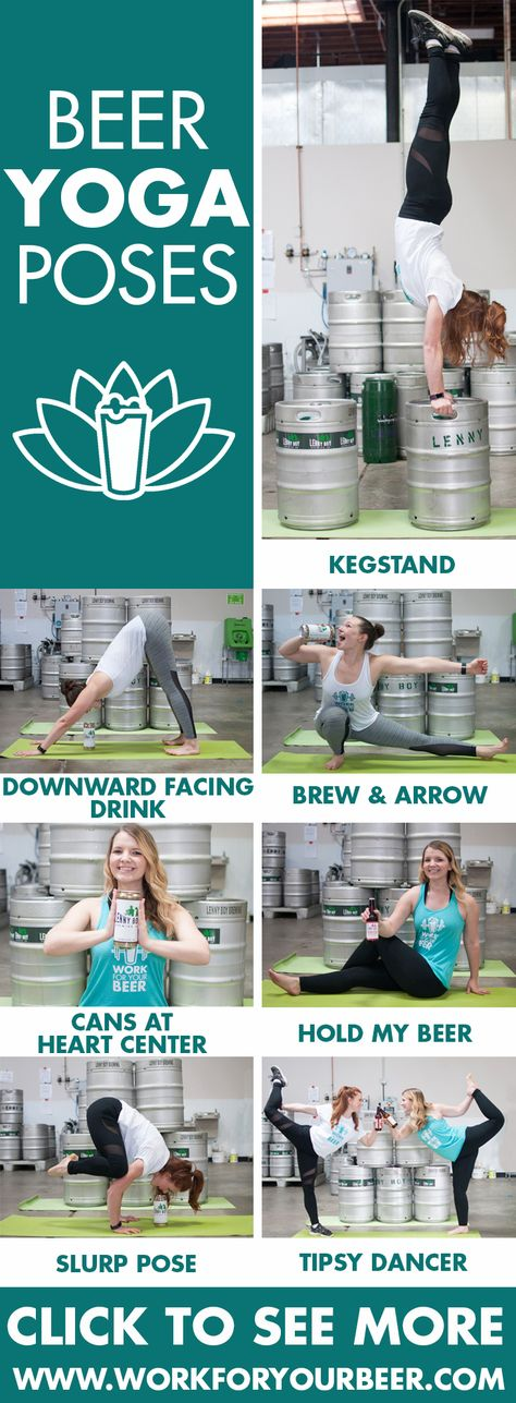 93 Best Beer Yoga Images Yoga Beer How To Do Yoga