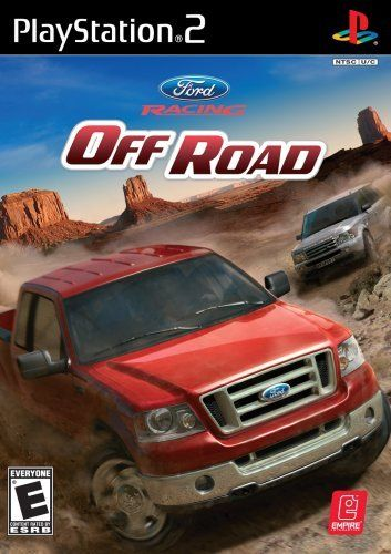 Ford Racing Off Road Ps2 Game With Images Ford Racing