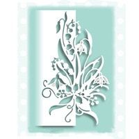 Metal Cutting Dies Flower Vine Lace Stencil For DIY Embossing Scrapbooking Card
