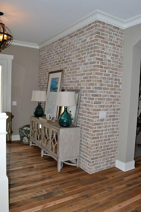 10 Strategies To Apply White Brick Wall In Various Rooms Archlux Net Brick Interior Wall Brick Wall Decor Faux Brick Walls