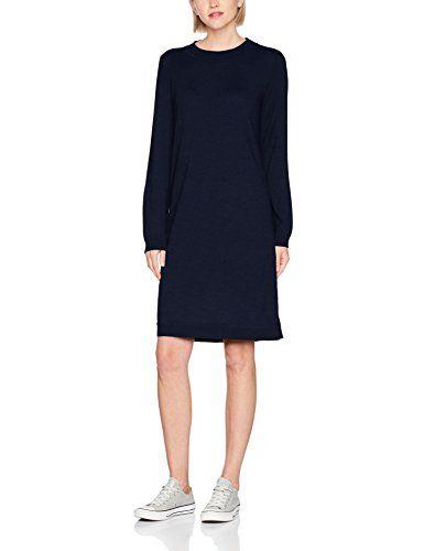 hot sale online 59728 51b04 SELECTED FEMME Damen Kleid SFEILEEN LS Knit O-Neck Dress ...