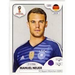 Manuel Neuer Germany Copa Do Mundo Brasileirao Panini