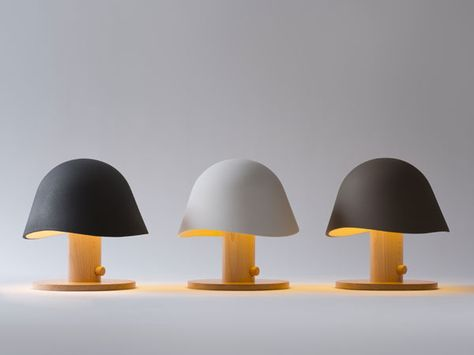 mush lamp by claudia garay.