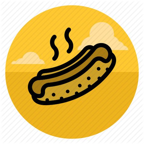 Burger Food Hotdog Eat Fast Food Fastfood Hot Dog Icon Download On Iconfinder Dog Icon Hot Dogs Icon