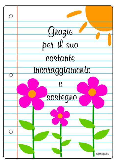 List Of Pinterest Biglietto Ringraziamento Maestra Pictures