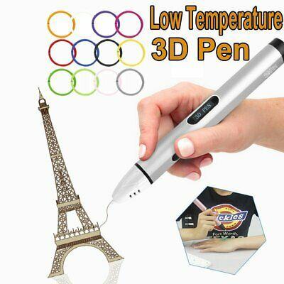 3D Printing Pen Drawing Doodle Crafting Modeling Filament Art Printer /& Filament
