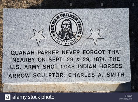 Chief Quanah Parker Grave PHOTO,Native American Indian Nation Burial Site 1940