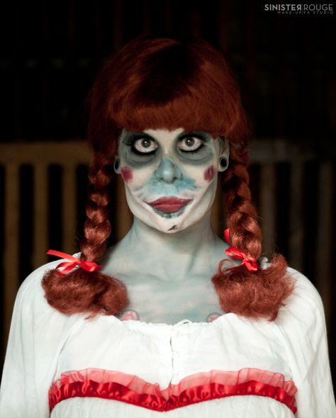 Annabelle Doll Insidious Witch Halloween Prosthetic Make Up By Sinisterrougemakeupfx