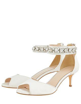 bridal kitten heels uk
