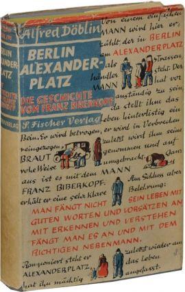 Berlin Alexanderplatz Die Geschichte Vom Franz Biberkopf First Edition In The First Issue Berlin Lettering Novels