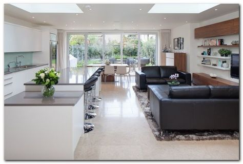 70 Awesome Roof Lantern Extension Ideas Open Plan Kitchen Living Room Open Plan Kitchen Dining Open Plan Kitchen
