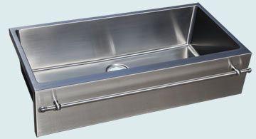 Stainless Steel Towel Bar Sinks 4973 Bar Sink Sink Stainless