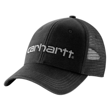 Carhartt Mens Brandt Mesh Back Adjustable Curved Visor Baseball Cap