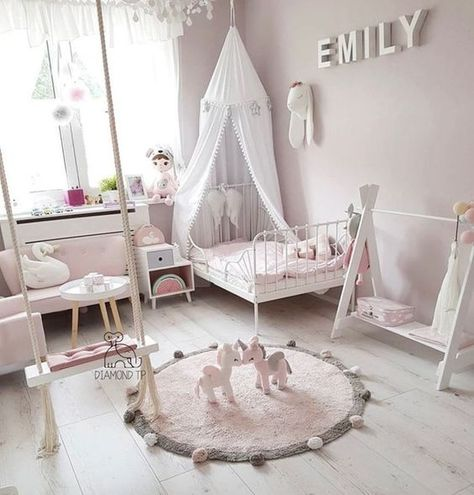 Les Plus Belles Suggestions Pour La Decoration De Chambre De Fille