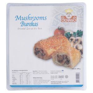 Bennys Kosher Frozen Mushroom Burekas Coles Online