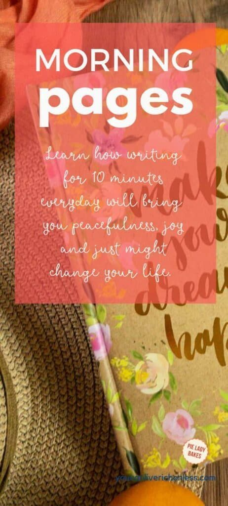 How Writing Morning Pages Every Day Will Change Your Life Printable Morning Pages The Artist S Way Power Of Meditation
