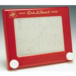 Can't think of any toy that tests motor skills like an Etch-A-Sketch! Never did understand those things...