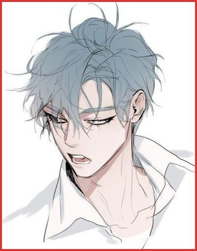 Cartoon Male Hair 157317 Blue Hair Character Design Pinterest En