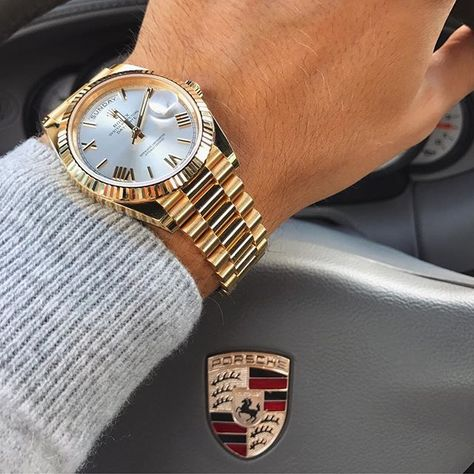 Hope you guys enjoyed Sunday! Rolex Day-Date from @rolexblog   http://ift.tt/2cBdL3X shares Rolex Watches collection #Get #men #rolex #watches #fashion