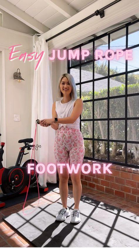 Easy Jump Rope Footwork