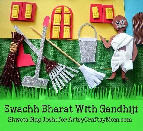 Gandhi Jayanti Crafts Video Activities For Kids Activities For Kids Craft Videos Crafts For Kids