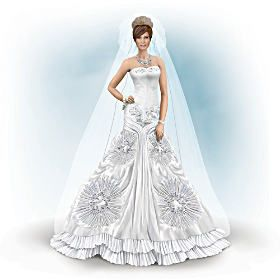 Doll Passionfire Queen Of Desire Nene Thomas Fantasy Doll Elegant Wedding Gowns Barbie Wedding Dress Bride Dolls