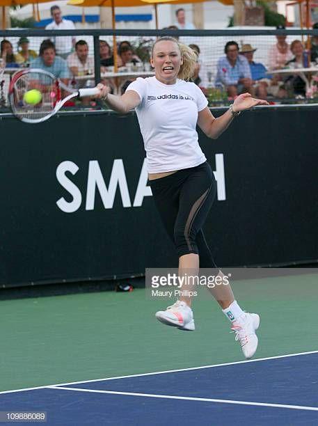 Tennis player Caroline Wozniacki in