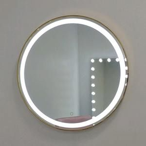 Phoenix Led Gold Mirror Gold Circle Mirror Led Makeup Mirror Led Mirror