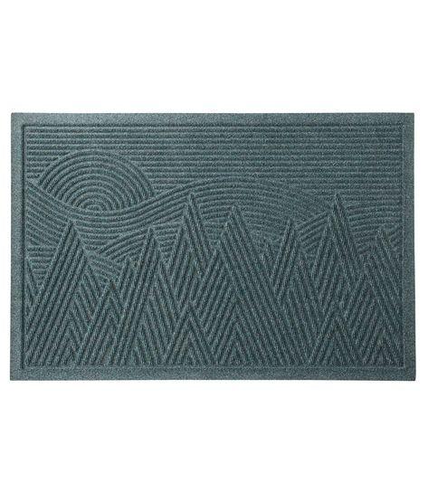 Everyspace Recycled Waterhog Doormat Mountain Scene In 2020 Door Mat Waterhog Mat Mountain Scene