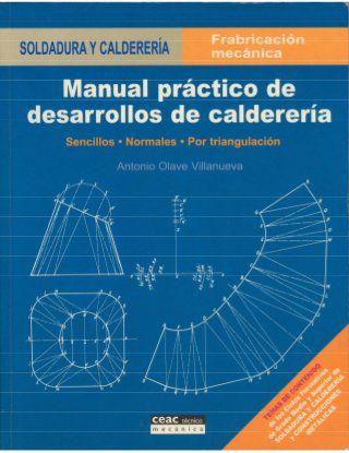 Manual Prático De Desarrollos De Calderería Caldereria Calderería Planos Mecanicos