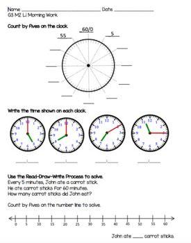 Engageny Eureka Math Grade 3 Module 2 Topic A Lessons 1 5 Morning