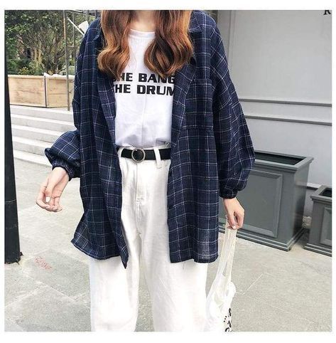 Retro plaid shirt