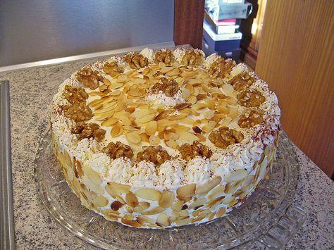 Beste Rezeptesammlung: Goldrausch - Torte