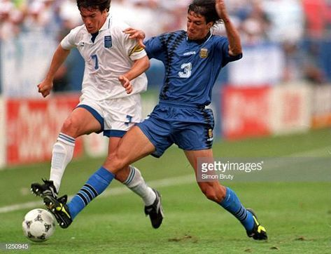Argentina Vs Greece 1994 Stock Pictures Royalty Free Photos Images Getty Images In 2020 World Cup Fifa World Cups Memorable Moments