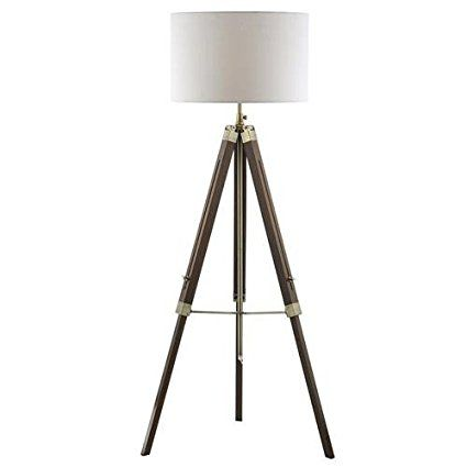 Natural Wood Tripod Floor Lamp Base Only With Images Wooden Tripod Floor Lamp Floor Lamp Base