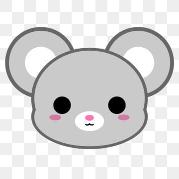 Cute Grey Mouse Head Mice Mouse Rat Png Transparent Clipart Image And Psd File For Free Download Clip Art Cartoon Clip Art Mouse Illustration