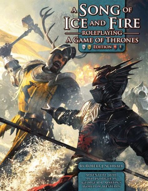 2012 A Song Of Ice Fire Rpg A Game Of Thrones Edition By