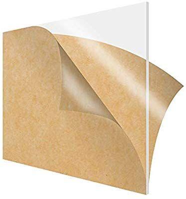 Amazon Com Simbalux Acrylic Sheet Clear Cast Plexiglass 12 X 12 Square Panel 1 4 Thick 6mm Transparent Plasti Diy Display Acrylic Sheets Plexus Products