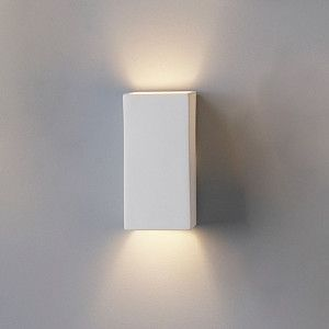 4 5 Ceramic Block Sconce Contemporary Wall Sconces Modern Sconces Interior Wall Lights