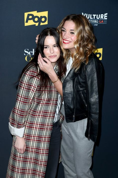 Annie Murphy and Emily Hampshire's Real-Life Friendship