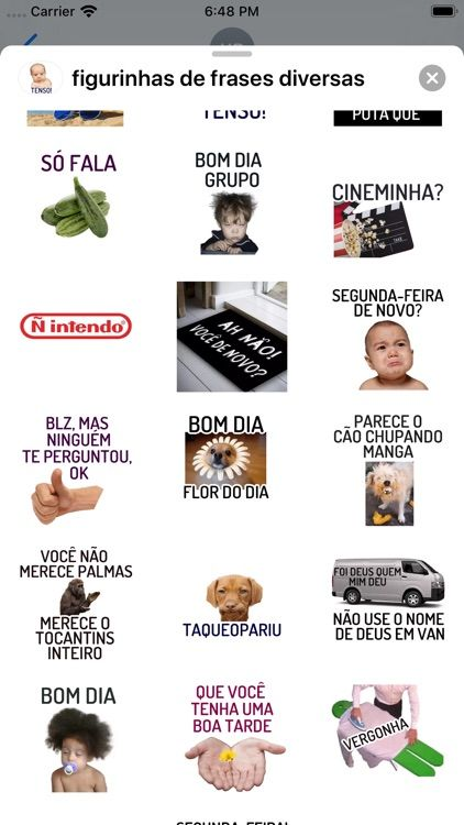 Figurinhas De Frases Diversas By Yassine Ouchlah In 2021 Good Apps To Download App Itunes