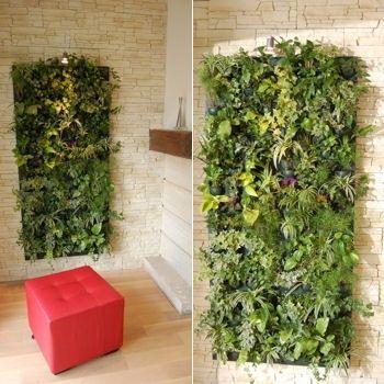 mur vegetal artificiel ikea mur