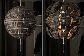 Lylelo gestaltet eine IKEA Lampe in den Todesstern um