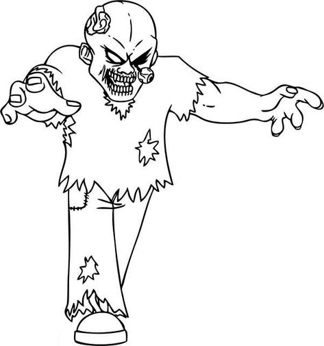30 Zombie Coloring Page Ideas Coloring Pages Zombie Coloring Pictures