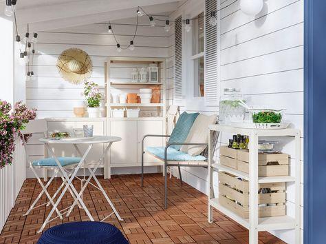 Tavolo Pieghevole Ikea Con Sedie.Mobili Da Giardino E Arredamento Per Esterni Con Immagini Idee